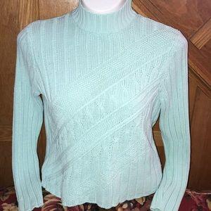 IZOD Minty Green Sweater XL